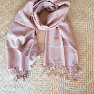 oudroze sjaal