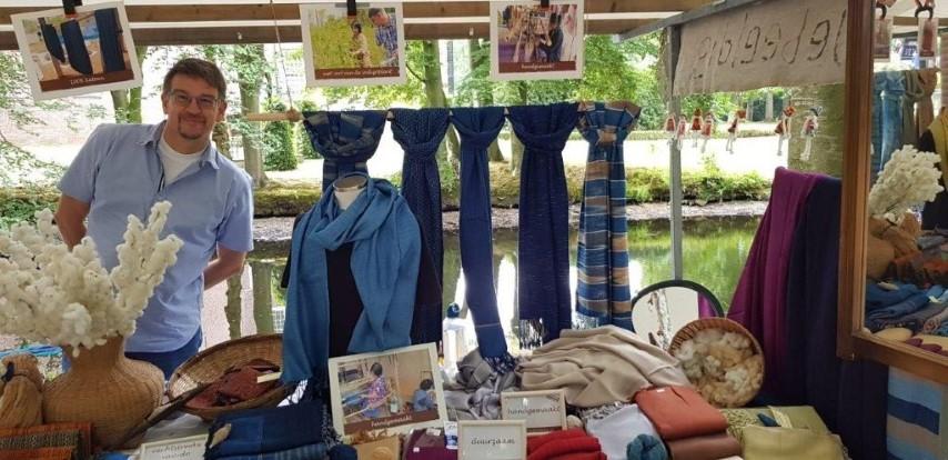 sjaals met kasteelgracht