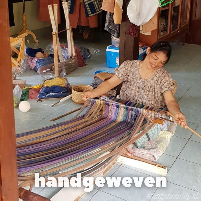 duurzame handgeweven sjaal