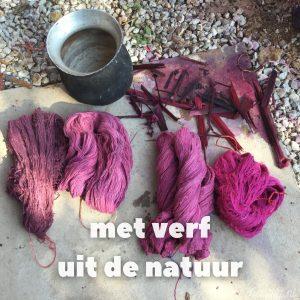 een duurzame handgeweven sjaal